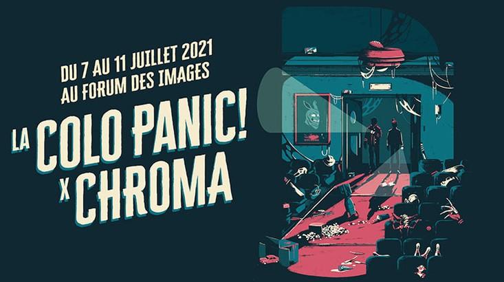 La Colo Panic x Chroma 4 Poster